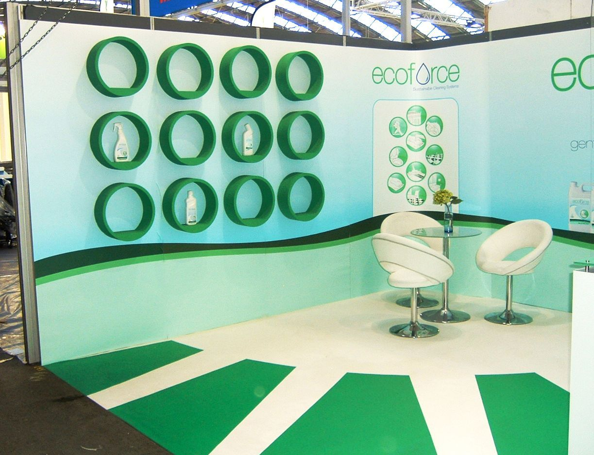 Shell Clad Exhibition Stand : Shell clad exhibition systems east sussex chromatics